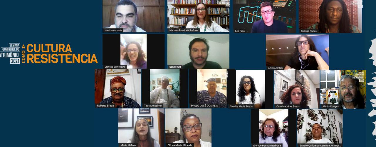 Resistir para existir: uma narrativa sobre a 11ª Semana Fluminense do Patrimônio